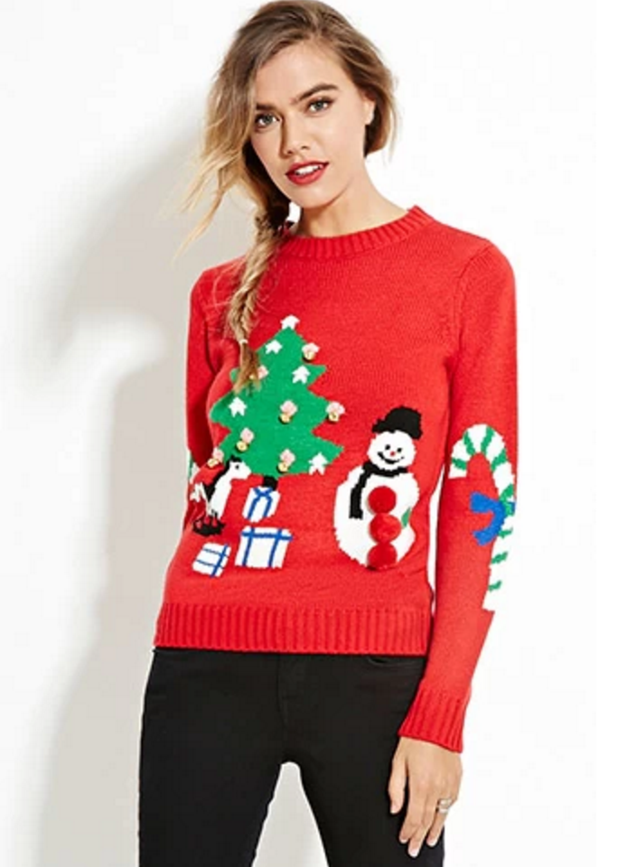 How To Look Sexy In An Ugly Christmas Sweater